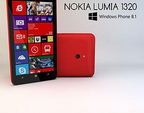 3D model Nokia Lumia 1320