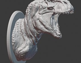 V Rex Wall Trophy 3D printable model