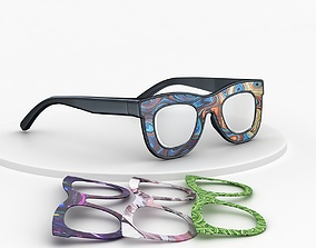 3D model Classic Sunglasses for Men and Women