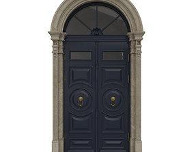 3D Entrance classic door 20