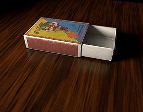 3D model boxofmatch Matchbox
