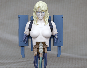 3D printable model Ghost in the shell - Project 2501