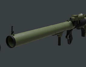 3D M79 Osa Rocket Launcher