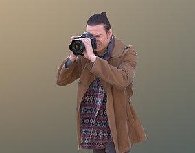 Marcel 10303 - Standing Photograph 3D asset game-ready