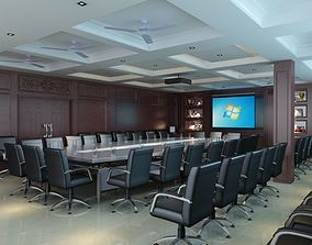 photorealistic 3D Conference Room