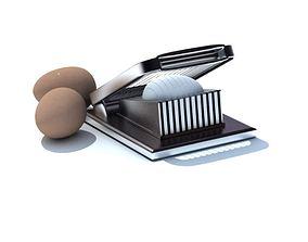 3D model Stainless Steel Egg Slicer