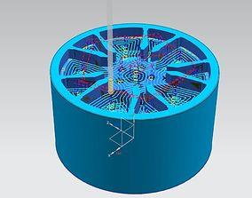 PRECISION SERIES WHEEL No1 3D printable model