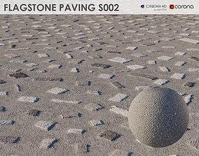 3D Flagstone Pavement - S002 - 8k Seamless