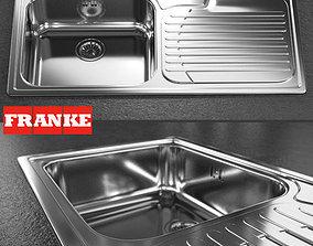 3D sink - Franke - Galassia GAX 611