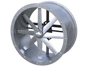 Axial Flow Fan 1 New 3D asset