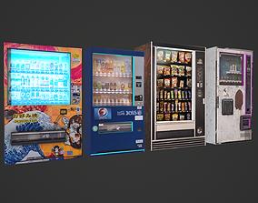 3D model Vending Machine Pack