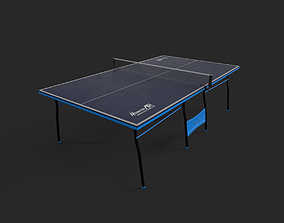pingpong table 3D asset
