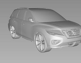 2019 NISSAN PATHFINDER 3D Scan Data 3D model 3D print