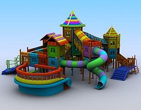 playhouse 3D model Playground Set