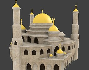 19 arabian house and building 3D model