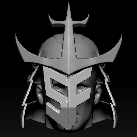 Samurai Helmet WIP
