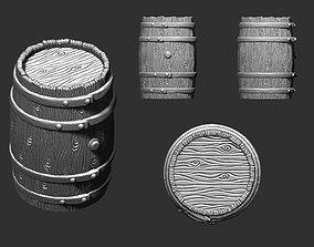 3D printable model Barrel for Board game