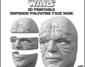 Emperor Palpatine Face Mask 3D printable model