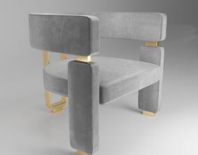 3D asset Margaret Armchair
