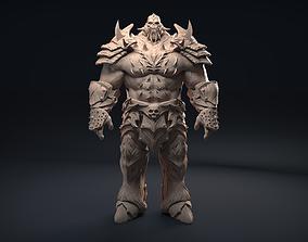 3D model Scullhead Warrior warrior