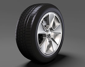 Renault Sandero wheel 2016 3D model