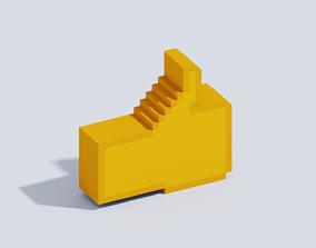 3D model Voxel Emoji T20
