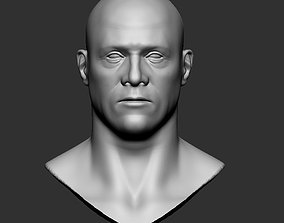 3D print model Base mesh male head