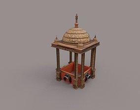 3D model architecture pavilon