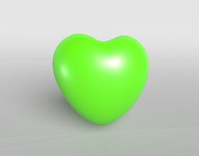 Green Heart 3D model