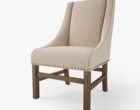 3D model Restoration Hardware Nailhead Chair