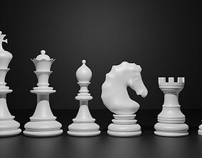 3D Chess interior knight