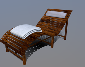 Sun Seat 01 - Wellness and Relax Chair 3D