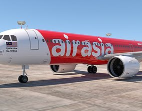 3D AIRASIA A321 NEO