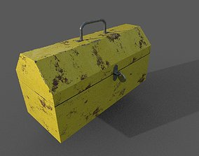 Tool Box 3D Model game-ready
