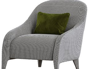 FENDI FF Audrey armchair 3D model