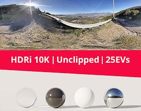 HDRi Landscape Mountains and Sky hdri-environment 3D