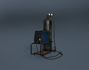 3D model Inverter welding machine
