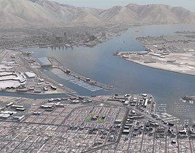Military Naval Base naval 3D model