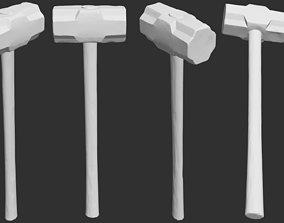 Old Sledgehammer - 3D Printable