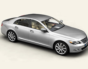 standard 3D model Generic Car Upper Class