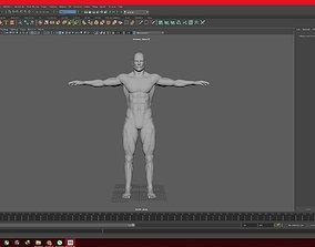 Human 3D model VR / AR ready