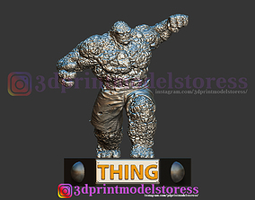 Super Thing Fantastic Four Statue 3D Printable STL File