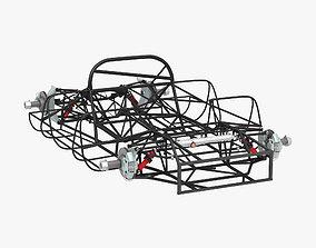 3D Chassis Frame - Ferrari 312p Spyder
