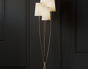 Ballard Designs Lottie Floor Lamp 3D