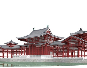 Byodo-in Temple in Kyoto 3D model