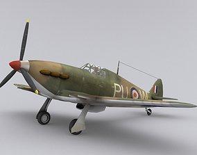 3D model Hurricane