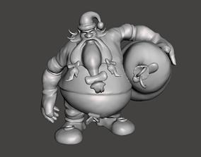 Santa Gragas 3D Model