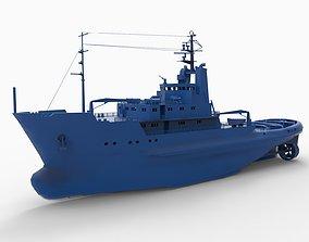 3D printable model ship mod11