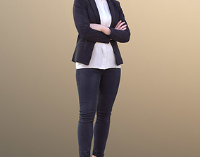 3D model Nelly 10321 - Standing Business Woman