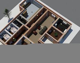 House with interiors Model 21 exterior